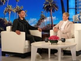 Trevor Noah On Ellen DeGeneres Show