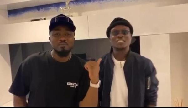 Ice Prince and Kofi Jamar
