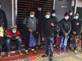 Africans evicted from chinese homes
