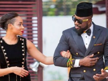 Elikem Kumordzie and Pokello