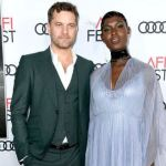 Joshua Jackson and wife Jodie Turner-Smith