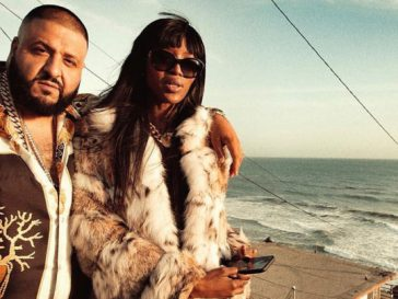 DJ khaled - Naomi Campbell