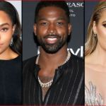 Jordyn Woods, Tristan Thompson and Khoe Kardashian