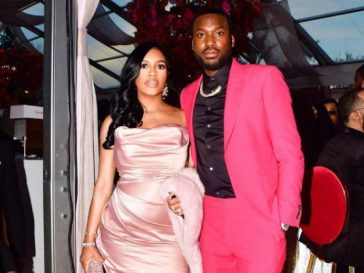 Meek Mill and girlfriend Milan Harris