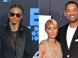 Will Smith denies giving August Alsina his blessing to have a romantic affair with his wife Jada Pinkett