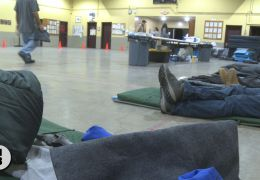 Armory Shelter Opens for the Winter