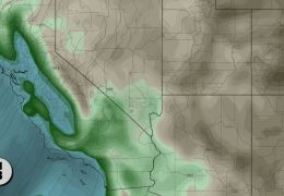 Inbound Storm Taps Atmospheric River