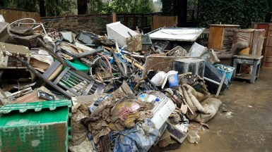 Russian River Flood Debris
