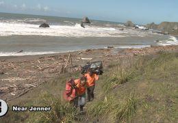 Volunteers Attack Sonoma Coast Debris