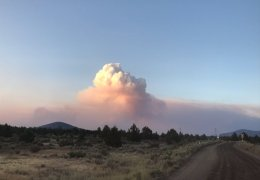 Tucker Fire in Modoc County Grows Slowly
