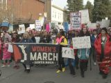 Thousands Rally at Women's March 2020