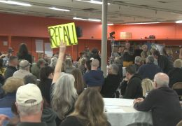 Emotions Boil Over at Homeless Town Hall