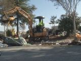 Santa Rosa Police, Dozers Move to Clear Industrial Drive Encampment