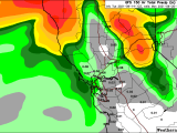 NORTHERN CALIFORNIA RAIN INCREASINGLY LIKELY THIS WEEKEND. WILL IT REACH THE NORTH BAY?