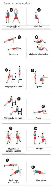 12 exercices de fitness