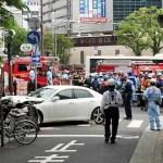 神戸市三宮・JR三ノ宮駅前で車暴走 4人重軽傷