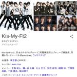 【緊急】SMAP解散の影響で「Kis-My-Ft2」もジャニーズ脱退か・・・
