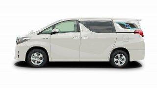 光岡自動車、新型寝台霊柩車「フュージョン」を発売! これで故人も思わずニッコリ😁