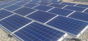 Zonne-energie installatie met zonnepanelen door NewSolar