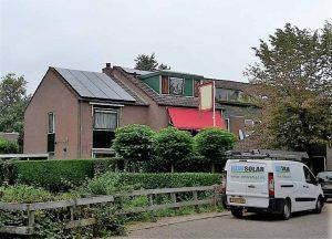 Zonnepanelen in Houten