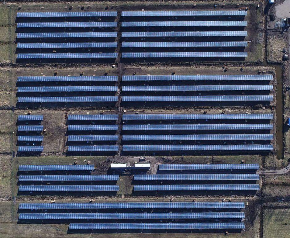 Bouw Solarpark Galecop nadert zijn einde