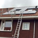 zonne-energie installatie, pv installatie