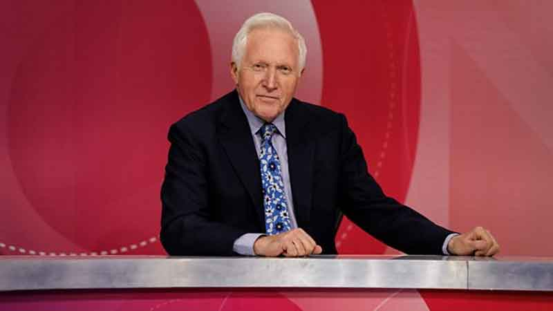David Dimbleby to Step Down as Question Time Host