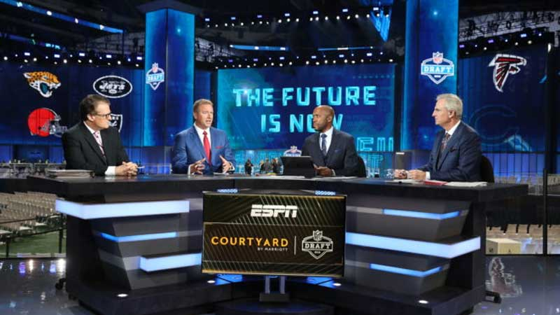 Disney and NFL Join Forces to Expand Coverage of the Draft