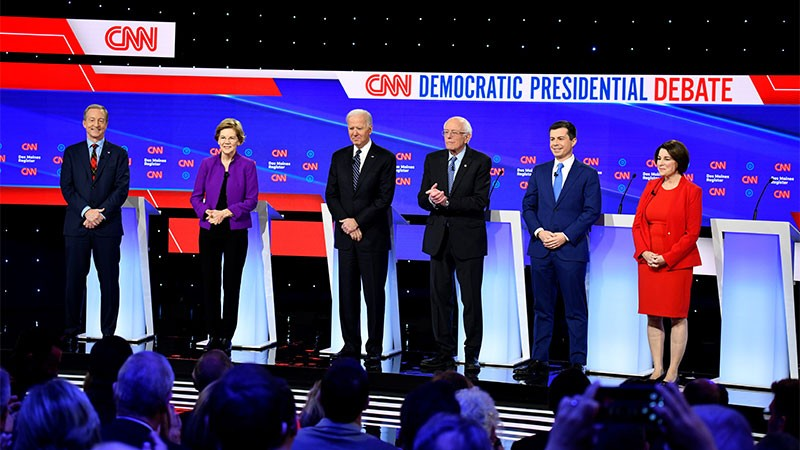 Over 10m Watch CNN-Univision Democratic Presidential Debate