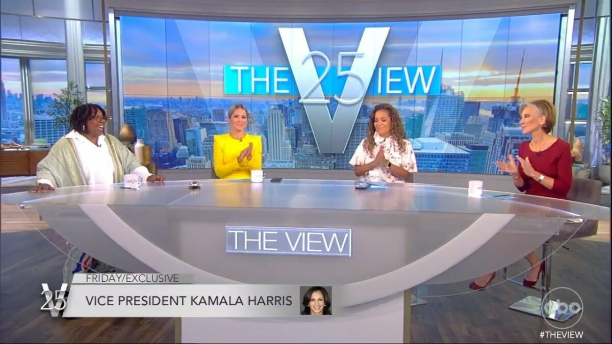 Vice President Kamala Harris Joins The View In Studio This Week The View - Kamala Harris to Appear on ABC's The View