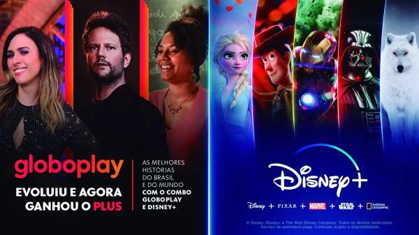 Globoplay e Disney +