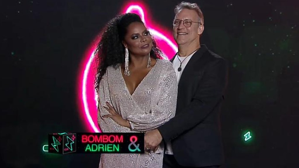 Adriana Bombom e Adrien