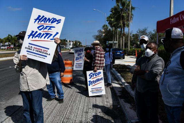 US-HAITI-PROTEST-IMMIGRATION