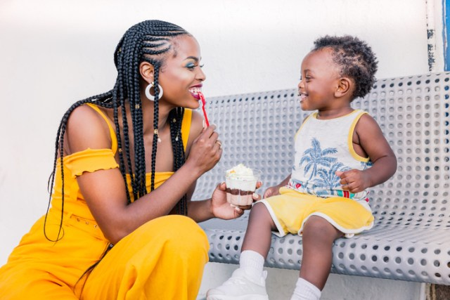 Mother and son ice cream, Togetherness, Parent, Parenting, Black Mother and Child, Black Mother and Son, African American mother, African American mother child, African American mother son