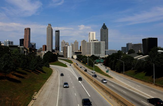 Atlanta Cityscapes And City Views