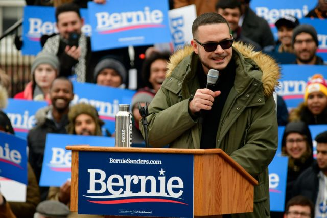 Bernie Sanders Kicks-off Campaign In NYC