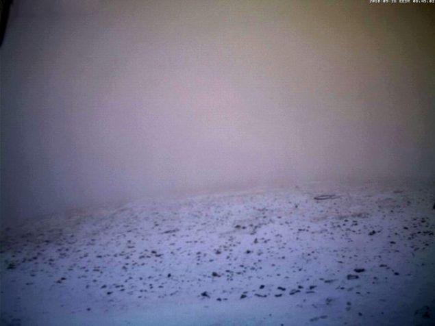 Επεσαν τα πρώτα χιόνια στις κορυφές του Ολύμπου.