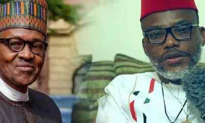 Nnamdi Kanu Reveals Why Buhari Cannot Address Nigerians On Coronavirus In Nigeria