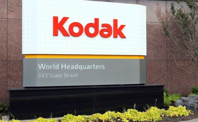 Kodak Stock Soars As Kodak Gets Into Drugs