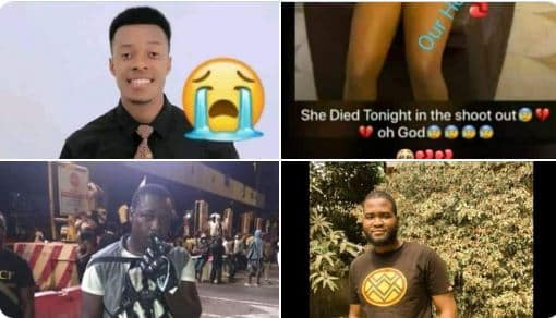 See Faces Of 4 #EndSARS Protesters Killed By Soldiers At Lekki Toll Gate (Photos)