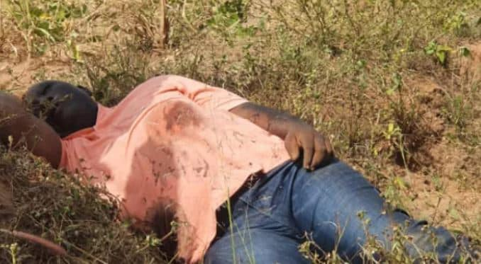 See Lifeless Body Of Kidnapped APC Chairman After Attack By Gunmen (Photo)
