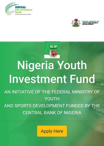 Nigerian Youth Investment Fund 2020