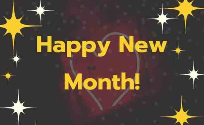 Happy New Month Messages For June 2021