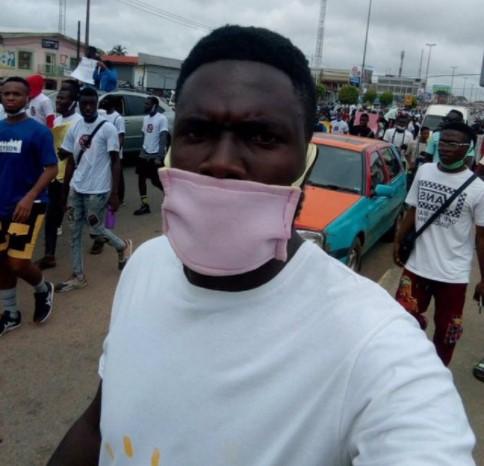 #June12thProtest Hit Lagos