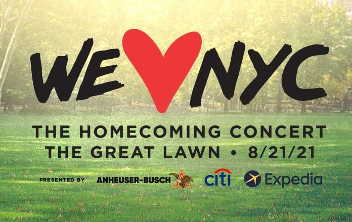 How To Livestream WE LOVE NYC: The HomecomingConcert