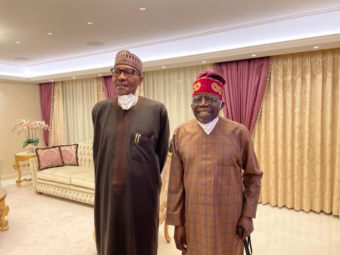 Tinubu And Buhari London Meeting