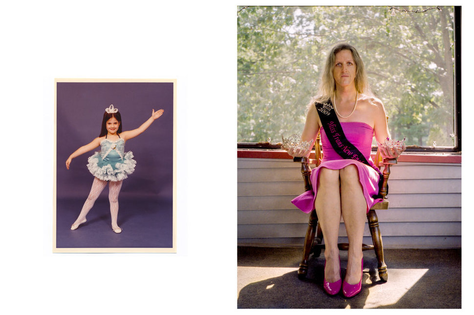 """Jennifer (age 6), before the recital; Lorelei, two-time pageant winner,"" 2012"