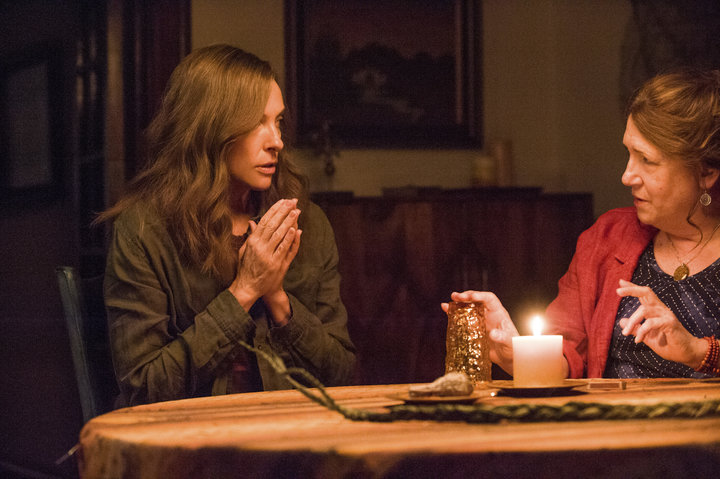 "In ""Hereditary,"" Dowd plays a mysterious medium who facilitates a seance with Toni Collette's character."