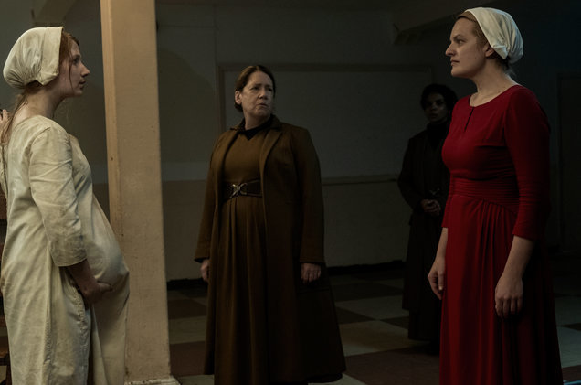"Dowd won an Emmy for ""The Handmaid's Tale"" in 2017."
