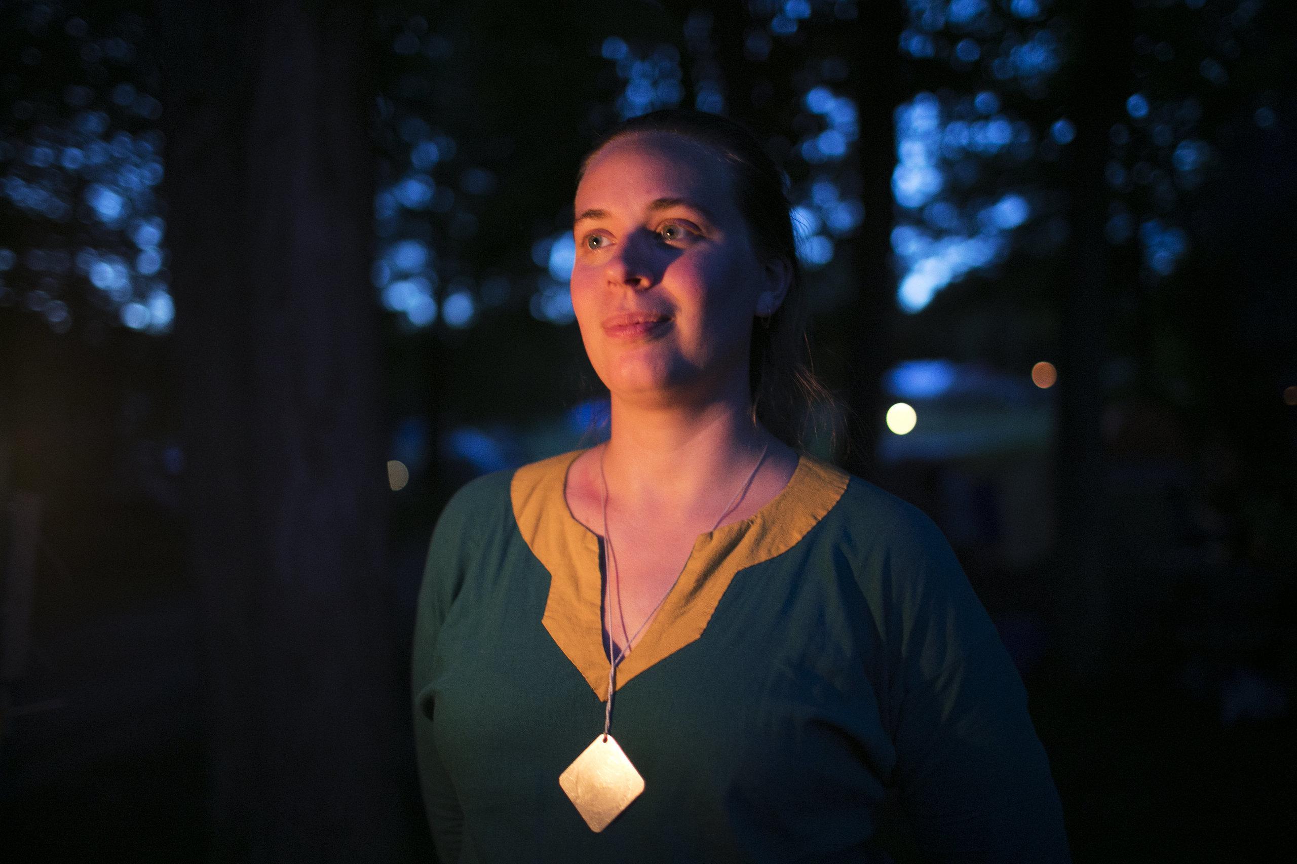 "Lauren Partlow, aka Phoenix, took the ""arbiter"" position at Ragnarok to help victims of predatory behavior."